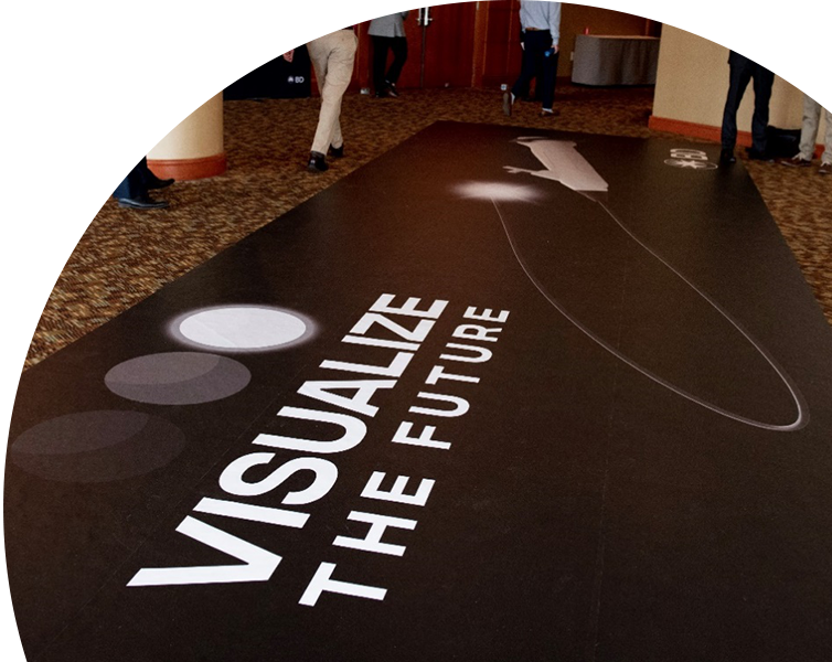Best printed vinyl decals for floor advertisement