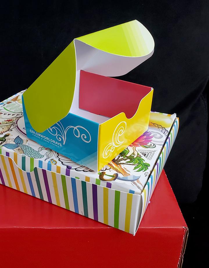 Branding custom packaging