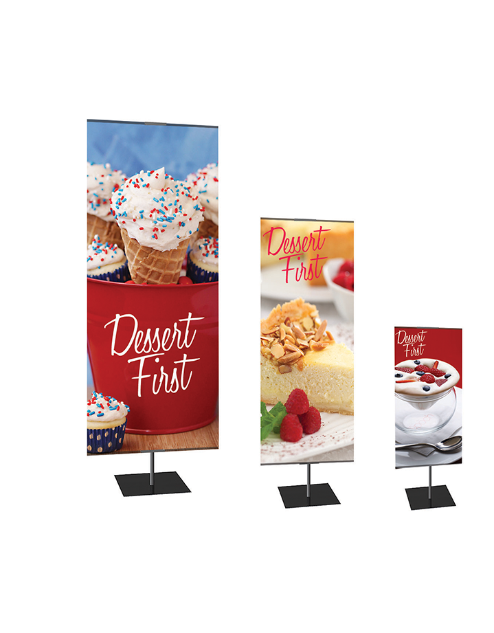 Retractable banners for event in Dallas, TX