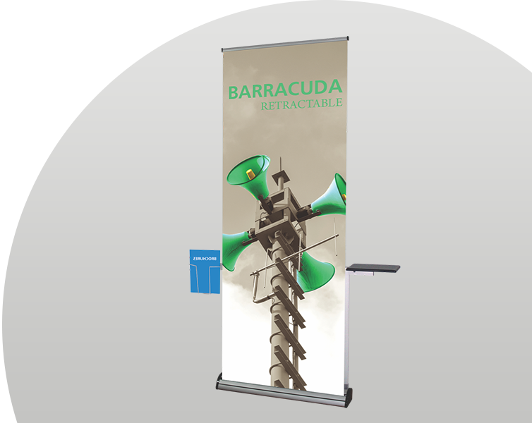 Retractable vinyl banners for business promotion in Dallas, TX